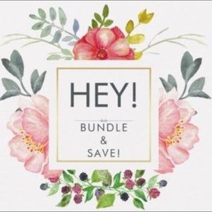 Other - BUNDLE your items to save on shipping!